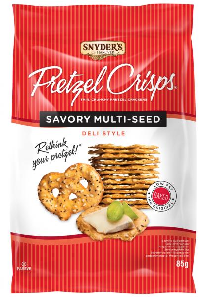 Snyder's Pretzel Crisps Savory Multi-Seed 85g