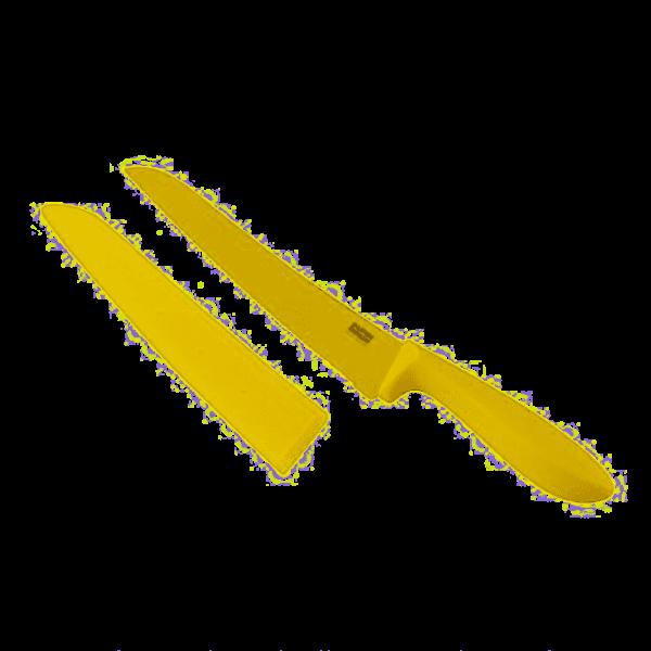 Kuhn Rikon Brotmesser 200mm gelb