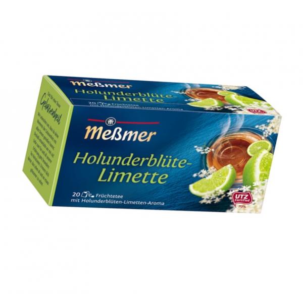 MeßmerTee Holunderblüte-Limette 20er 50g