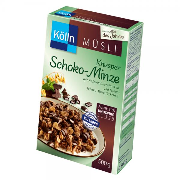 Kölln Müsli Knusper Schoko-Minze 500g