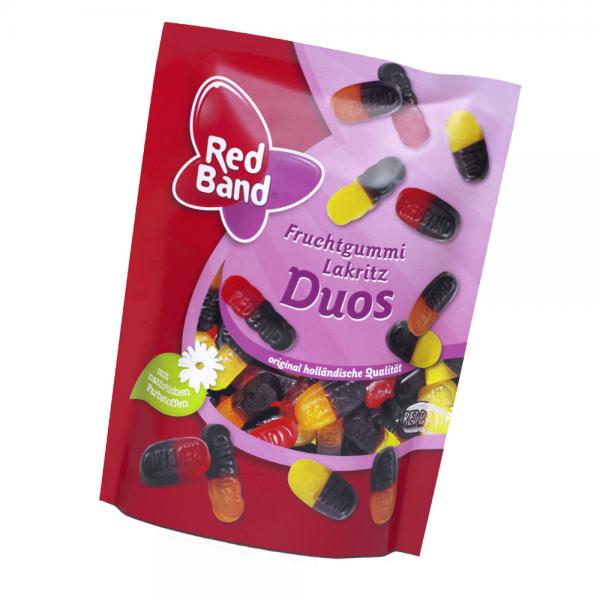 Red Band Fruchtgummi Lakritz Duos 200g