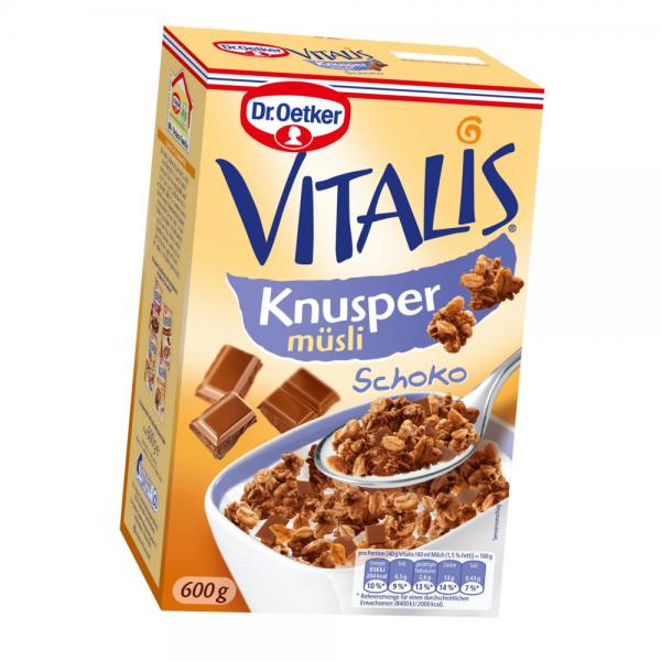 Vitalis Knuspermüsli Schoko 600g