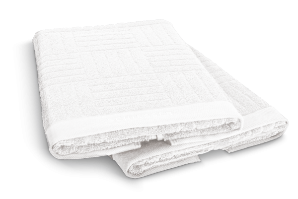 SCHIESSER Handtuch 50 x 100 cm Weiß, 2er Set