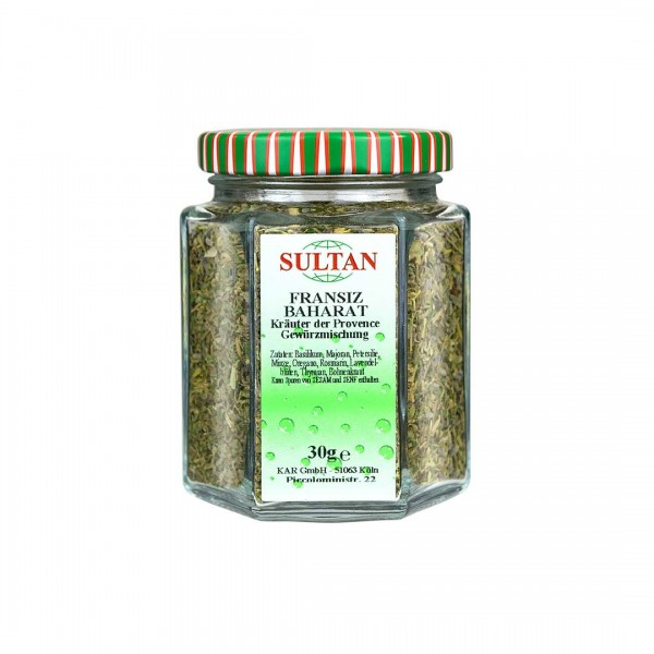 Sultan Kräuter der Provence Glas 30g