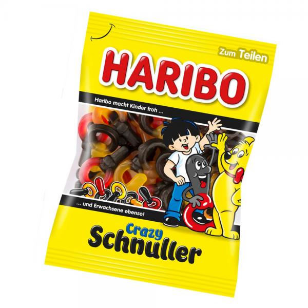 Haribo Crazy Schnuller 200 g