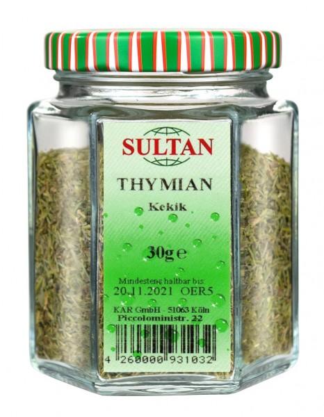 Sultan Thymian Glas 30g
