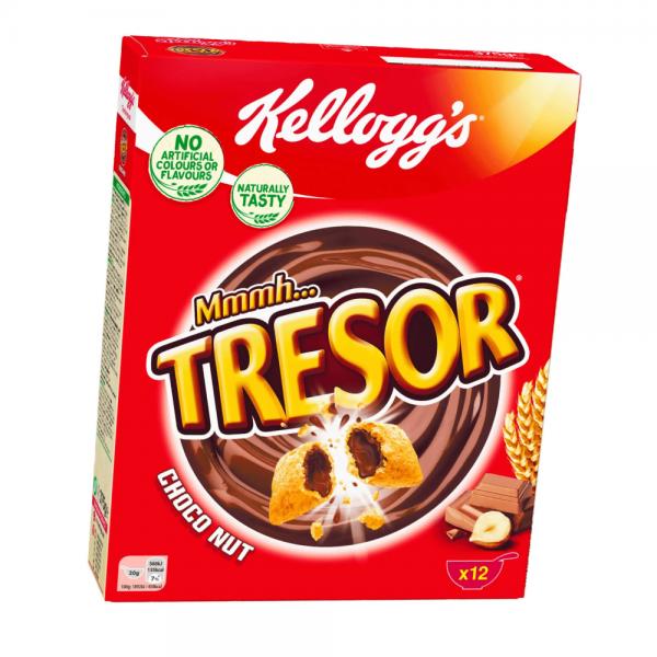 Kellog's Tresor Choco Nougat 375g