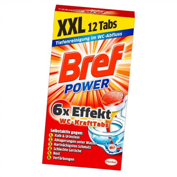 Bref Power WC-Kraft Tabs 300g WC Reiniger