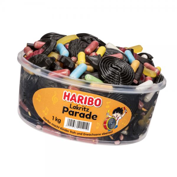 Haribo Lakritz Parade 1000g Dose
