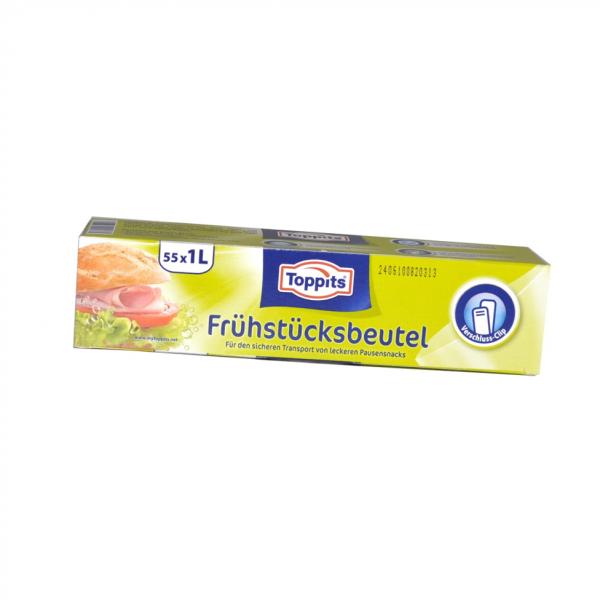 Toppits® Frühstücks-Beutel 1 Liter
