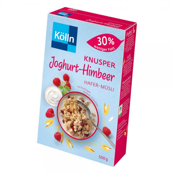Kölln Müsli Knusper Joghurt Himbeer 500g