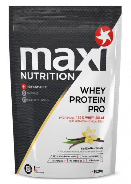 Whey Protein Pro Vanille