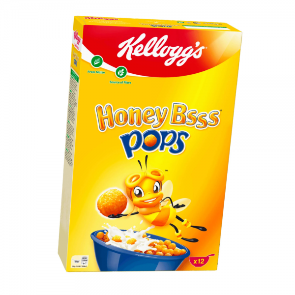 Kellog's Honey Pops 375g