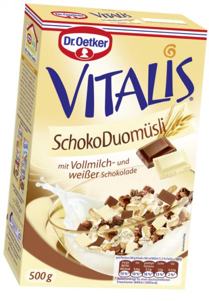 Vitalis Schoko Duo Müsli 500g