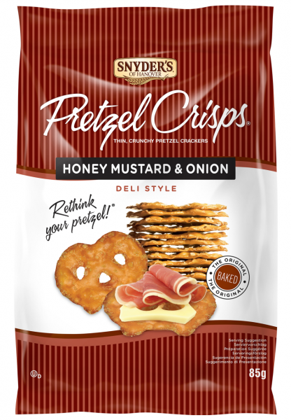 Snyder's Pretzel Crisps Honey Mustard & Onion 85g