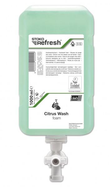 STOKO® Refresh Handwaschschaum GREEN LINE Citrus Wash 1000ml (3-G)