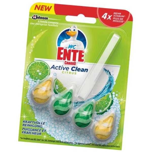 WC-Ente Active Clean-Citrus 38,6g WC-Einhänger