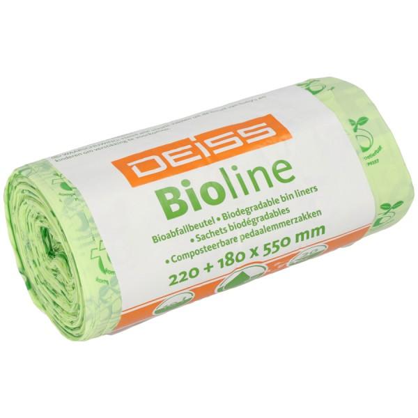 Deiss Bioline Bio Müllbeutel kompostierbar 10 L Bioabfallsack