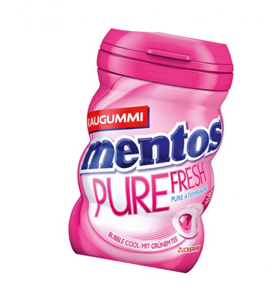 mentos Gum Pure Fresh Bubble Gum 70g Dose