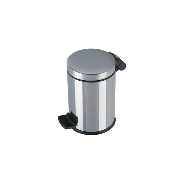 Hailo Tretabfalleimer Solid S 4 Liter aus Edelstahl
