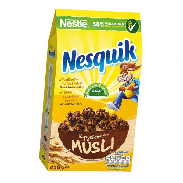 Nestle Knusper-Müsli Nesquik 410g