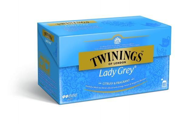 Twinings Lady Grey (25 Beutel a 2g) 50g