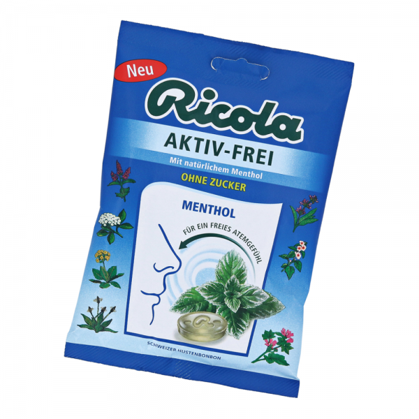 Ricola Aktiv-Frei Menthol 75g