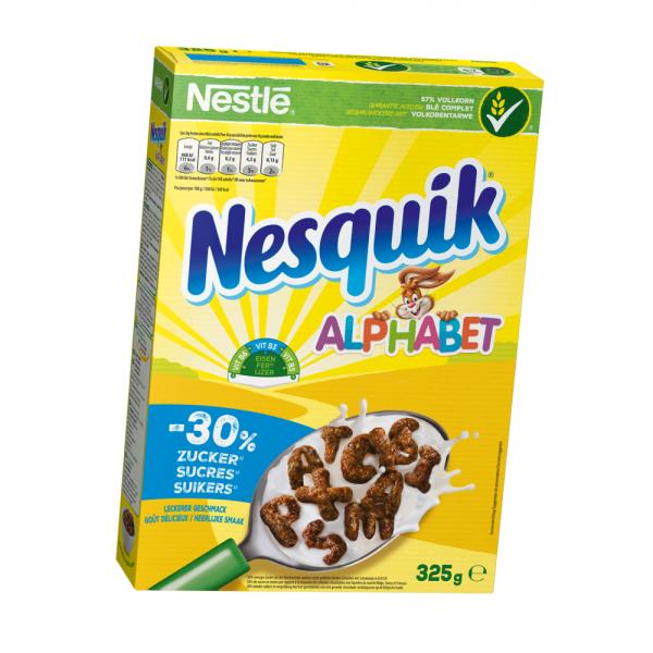 Nestle Nesquik Alphabet Cerealien 325g