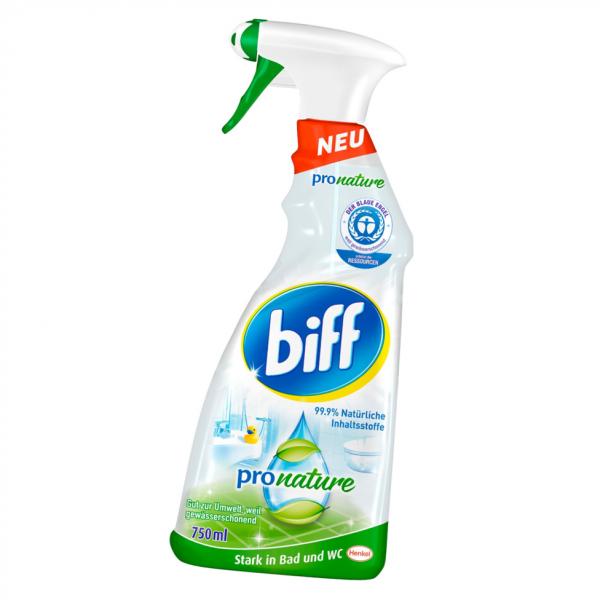Biff Bad Pro Nature 750ml Badreiniger - Sprühflasche