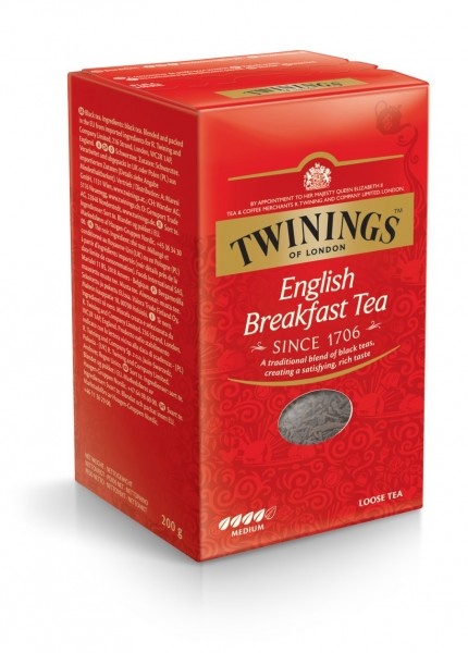 Twinings English Breakfast lose 200g