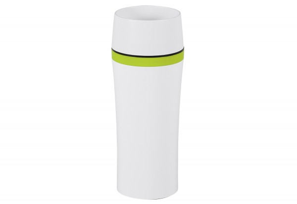 Emsa Travel Mug Fun Isolierbecher Weiß Grün 360ml