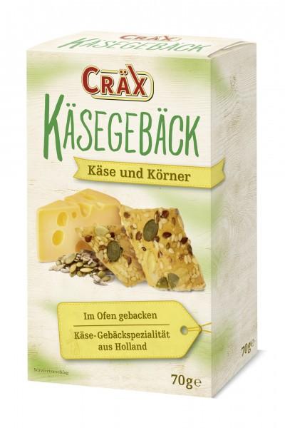 Cräx Käsegebäck Käse und Körner 70g