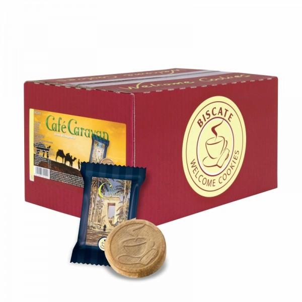 Biscate Mürbegebäck Cafe Caravan Karton