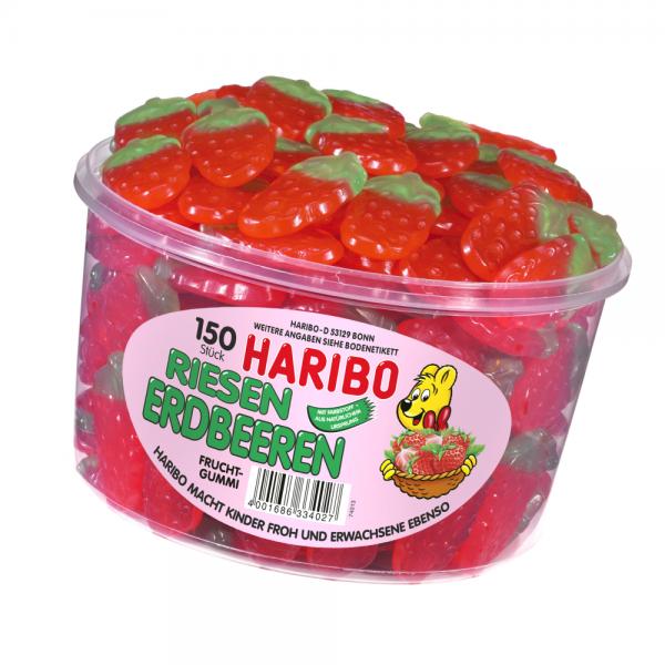 Haribo Riesen Erdbeeren 150er Dose