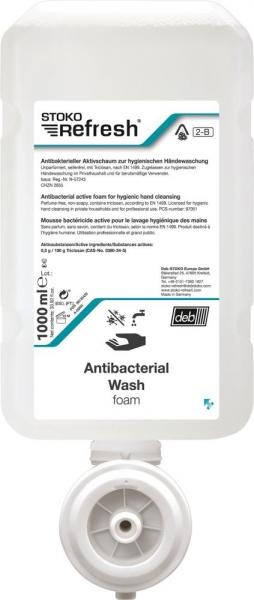 Stoko Refresh antibakterieller Schaum (2-B) Wash-Foam 1000ml