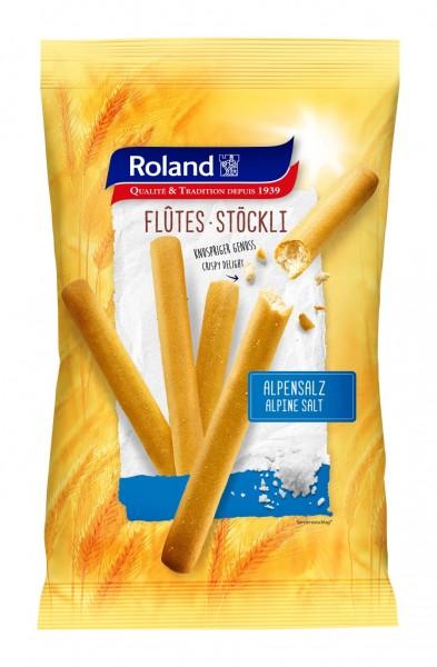 Roland Swiss Flûtes Stöckli Alpensalz 125g