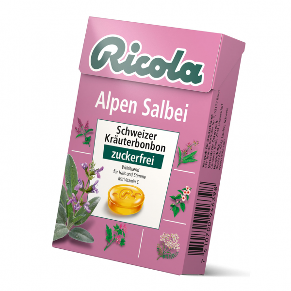 Ricola Salbei Box OZ 50g
