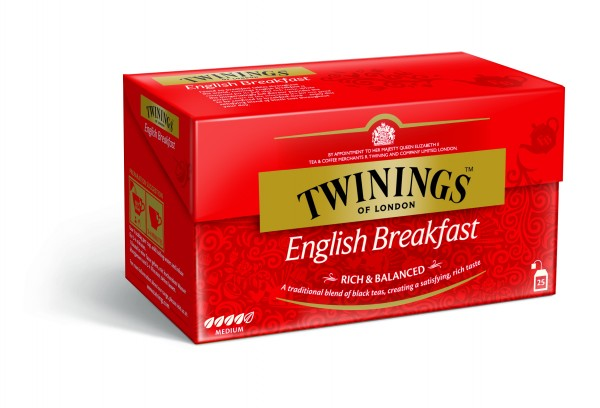 Twinings English Breakfast (25 Beutel a 2g) 50g