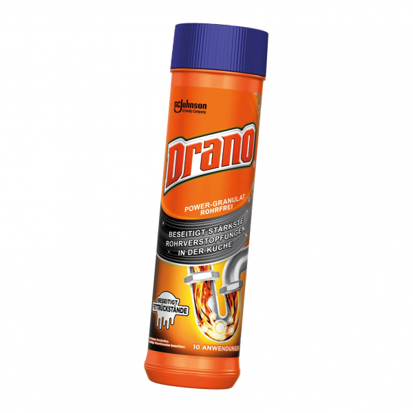 Mr Muscle Drano Power-Granulat 500g Abflussreiniger