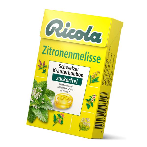 Ricola Zitronenmelisse Box 50g