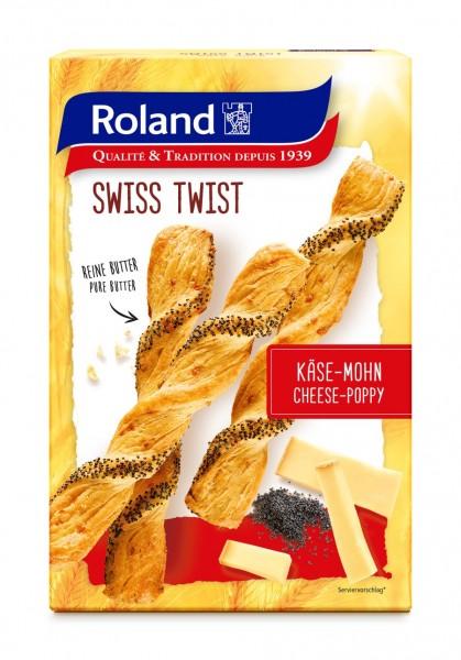 Roland Swiss Apéro Käse-Mohn 100g