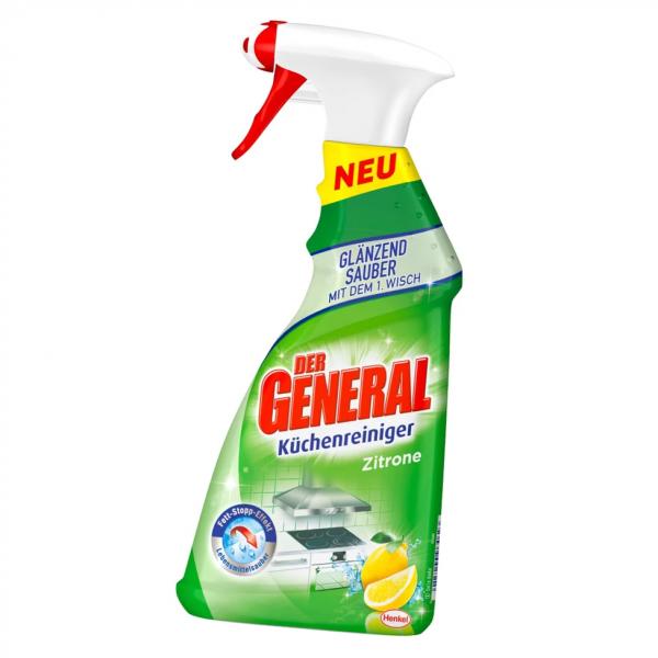 Der General Küchenreiniger Zitrone 500ml Sprühflasche