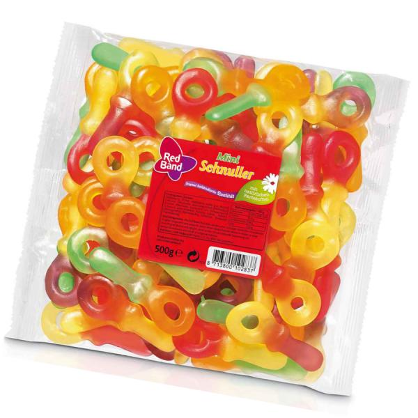 Red Band Fruchtgummi Schnuller 500g
