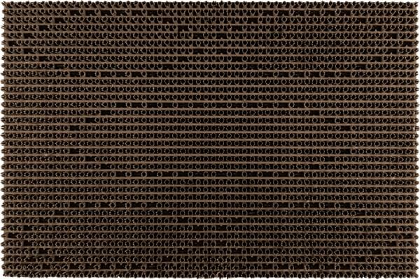 Fußmatte Allwetter dunkelbraun 40*60 cm