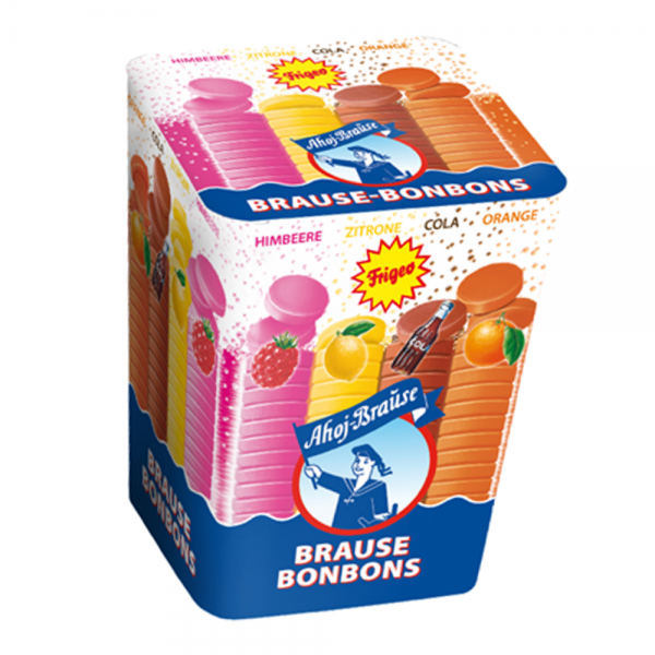 Frigeo Ahoj Brause-Bonbons Box 125g