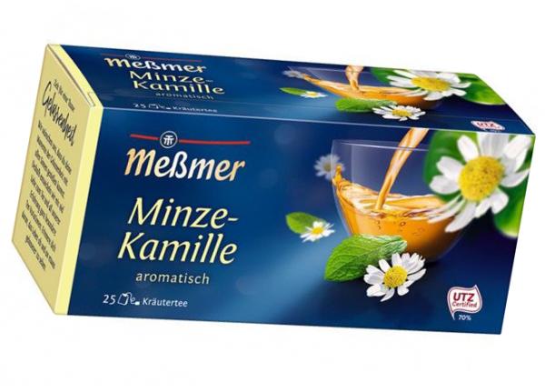 Meßmer KräuterTee Minze-Kamille 25er 43,75g