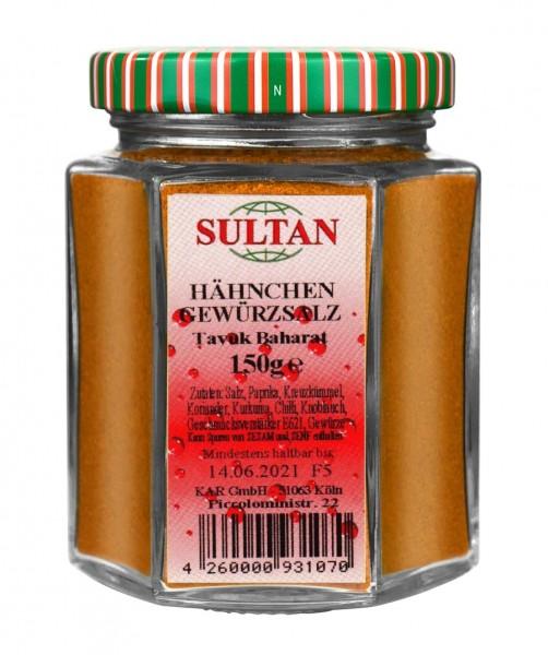 Sultan Hähnchengewürz Glas 150g
