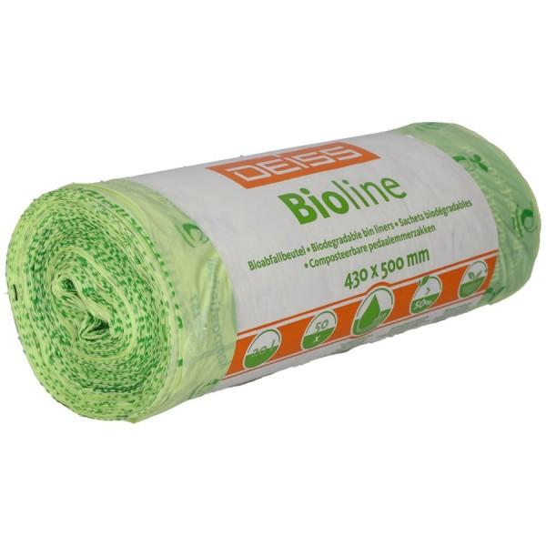 Deiss Bioline Bio Müllbeutel kompostierbar 20 L Bioabfallsack